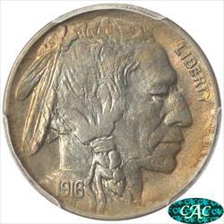 1916-D Buffalo Nickel PCGS MS 64 CAC