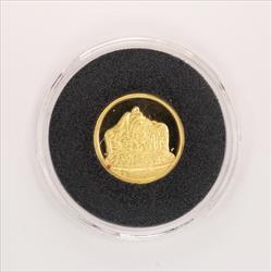 Disney Rarities Mint 1/4 Troy OZ 999 Gold THE WITCH- Snow Whites 50th Anniversary Series