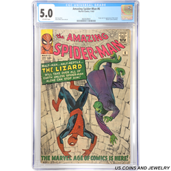 1963 Marvel Amazing Spider-Man #6 CGC