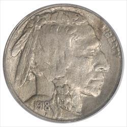 1918-S Buffalo Nickel PCGS AU55