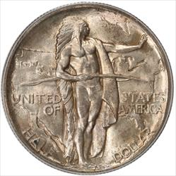 1933-D Oregon Half Dollar Commemorative PCGS MS65