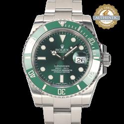 Rolex 40mm Submariner 116610LV Hulk Watch Only