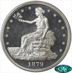 1879 Trade Dollar PCGS  PR65+ CAM CAC