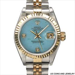 Rolex 26mm Datejust 69173 Watch and Papers