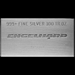 100 OZ SILVER BAR ENGELHARD