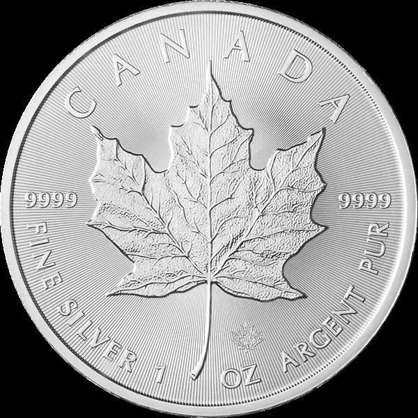 2018 1 OZ CANADIAN SILVER MAPLE LEAF