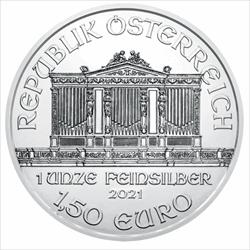 2021 1 OZ AUSTRIAN SILVER PHILHARMONIC