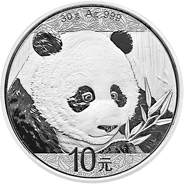 2018 30 GRAM CHINESE SILVER PANDA