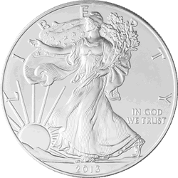 1 OZ UNCIRCULATED AMERICAN SILVER EAGLE